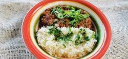 Chili con carne și orez jasmine image