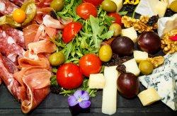 Platou affettati e formaggi/Affettati e formaggi plate