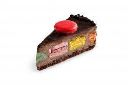 Macarons Chocolate mousse image