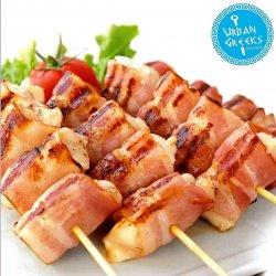 Souvlaki puișor și bacon image