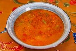 Supă de fasole verde image