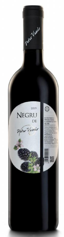 Vin rosu - Negru de Petro Vaselo, sec, 2019 image