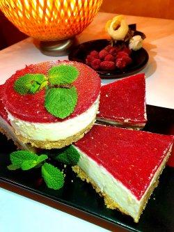 Cheese cake cu zmeura image