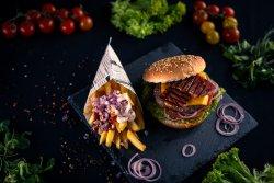 Ba Fi (Bacon Burger + cartofi)