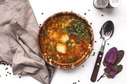 Supa de legume cu perisoare de curcan image