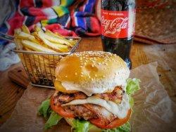 Meniu Crusta burger+Cola image