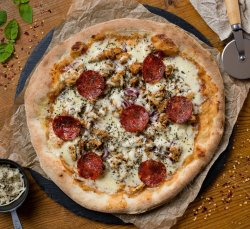 Pizza Chicken BBQ  image