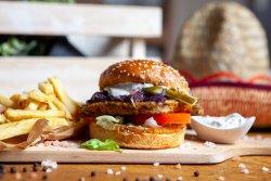 Meniu Veggie burger+Cola image
