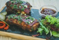 Caramelized pork ribs