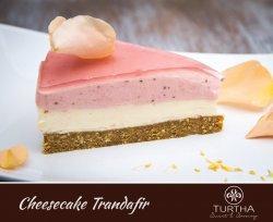 Cheesecake trandafir