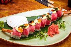 Tuna roll wasabi image