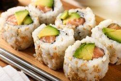 Salmon avocado image