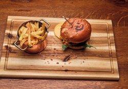 Burger fondue image