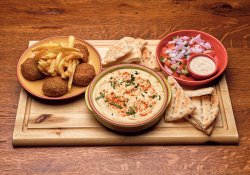 Falafel & humus  image