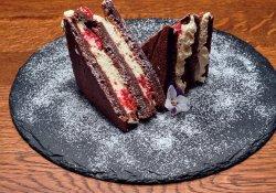 Prăjitură cu mascarpone și zmeură image