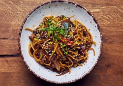 Tokyo beef noodles  image