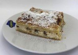 Plăcintă cu brânză de vaci și stafide image