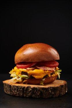 Peanut Burger image