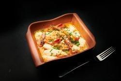 Creveti Saganaki - Shrimps Saganaki image