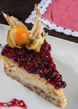 Cheesecake fructe de pădure image