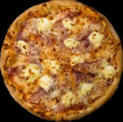 Pizza Prosciutto e mascarpone image