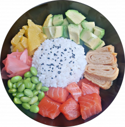 Salmon Bowl image