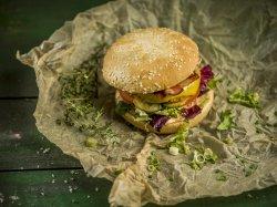 Grinch Burger image