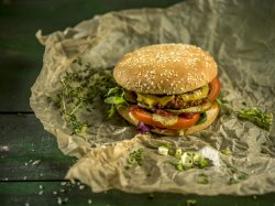 Vega Bega Burger image