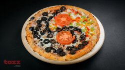Pizza Yin Yang  image