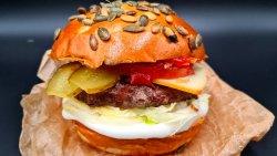 Black Angus Burger image