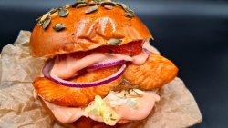 Salmon Burger image