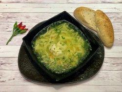 Supă de pui cu tăieței de casă image