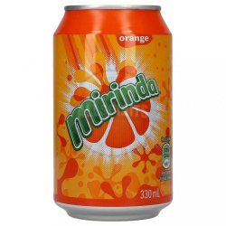 Mirinda orange 330 ml  image