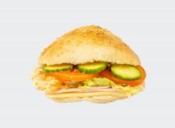 Sandwich cu șuncă și cașcaval