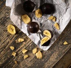Fursecuri fragede cu ciocolată și banane image
