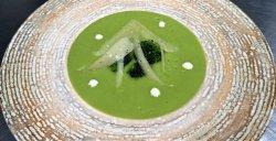 Zuppa di broccoli con Parmigiano Reggiano DOP image
