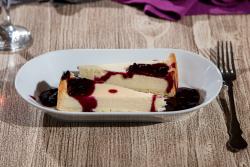 Cheesecake cu dulceata de afine image