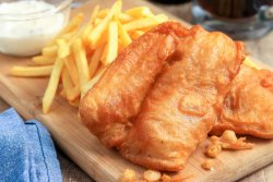 Family Pack 2 persoane FISH & CHIPS