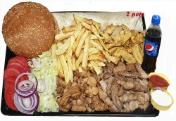 Burger Corsar pui + suc 0.5l image