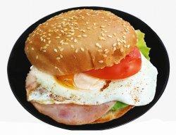 Burger cu ou simplu image