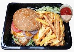 Burger Grill + cartofi prăjiți image