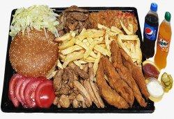 Burger pe săturate + 2 sucuri 0.5l image