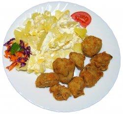 Cartofi franțuzești cu ficăței pane image