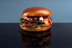 Porn Burger & Wedges image