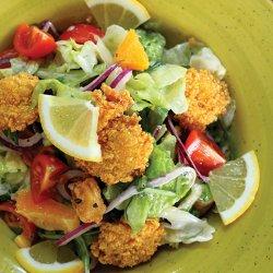 Salata caesar cu creveți pane image