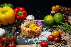 Orez primavera cu legume Wok image