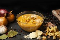 Supă cremă de pui cu legume image