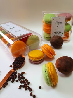 Macarons - cutie 6 buc. image