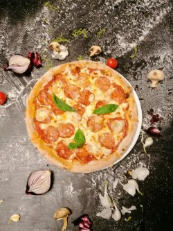 Pizza Quattro fromaggi picante  image