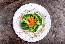 Broccoli cu lapte si usturoi